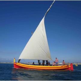 Barques Catalane départ La Moyenne